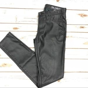 Blank NYC Pants - Blank NYC Faux Leather Skinny Pants